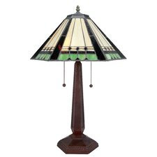 Garrison 3 Light Table Lamp