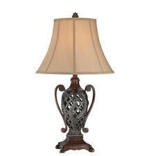 """Kylemore 29"""" H Table Lamp with Bell Shade"""
