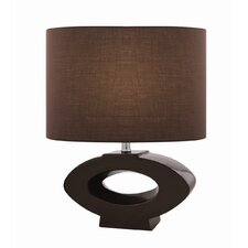 "Kenadia 21"" H Table Lamp with Drum Shade"