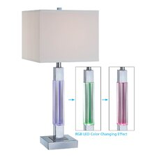 """Fidelio 27"""" H Table Lamp with Square Shade"""