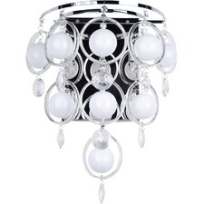 <strong>Lite Source</strong> Bubbles 6 Light Wall Sconce