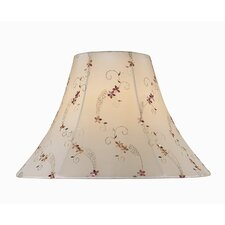 "16"" Jacquard Fabric Bell Shade"