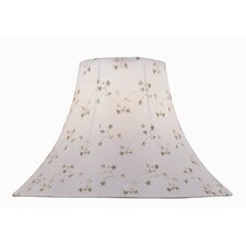 "18"" Jacquard Fabric Bell Shade"