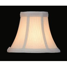 Candelabra Lamp Shade in White