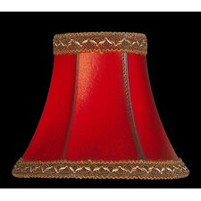 "6"" Faux Leather Chandelier Shade"