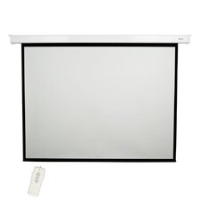 "Matte White 100"" diagonal Electric Projector Screen"