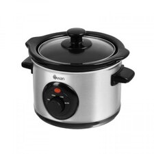 1.5L Slow Cooker in Stainless Steel