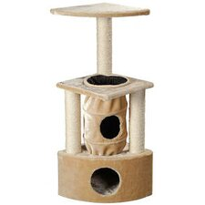 "<strong>Whisker World</strong> 43"" Triplex Fun Center Cat Tree"