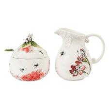 Hydrangea Sugar & Creamer Set