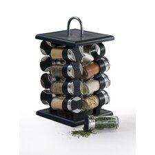 16 Piece Jar Spice Rack Set