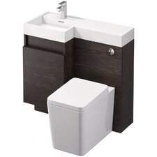 Dorset 90cm Vanity with Basin and WC Unit