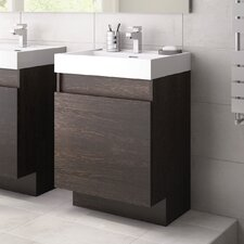 Avenue 49cm Semi Wall Hung Vanity Unit with Basin
