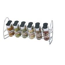 7 Piece Oval Spice Rack Set