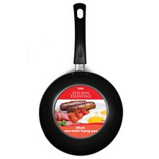 Non Stick Steel Frying Pan in Black