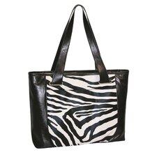 Zebra Comp Tote Bag