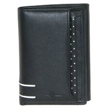 Luciano I.D. Three-Fold Wallet