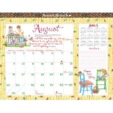 2015 Susan Branch 12 Month Desk Blotter