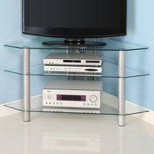 """44"""" Glass Corner TV Stand"""