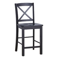 Cross-Back Barstool