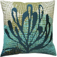 Ecco Embroidered Pillow