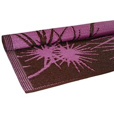 Bamboo Pink/Brown Star Floormat