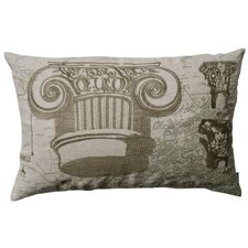 Dome Greek and Roman Capitals Pillow