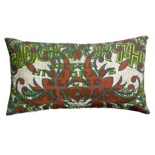 Press Cotton Print Edgeworth Tabacco and Tile Pillow