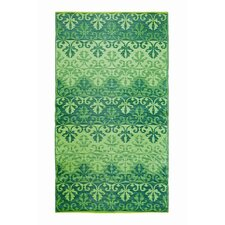 Sari Border Jade Outdoor Rug