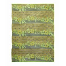 Vines Gold Lime / Beige Outdoor Rug