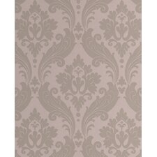 Kelly Hoppen Style Vintage Flock Wallpaper