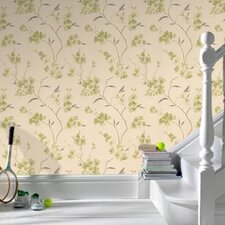Spirit Enthrall Floral Botanical Wallpaper