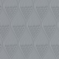 Shape and Form Concave Geometric Foiled Wallpaper