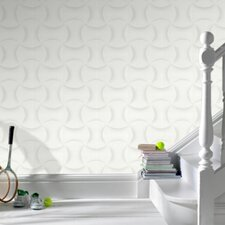 Shape and Form Ephemeral Geometric Wallpaper