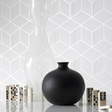 Shape and Form Cubix Geometric Wallpaper