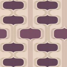 <strong>Graham & Brown</strong> Contour Kitchen and Bath Groovy Geometric Wallpaper