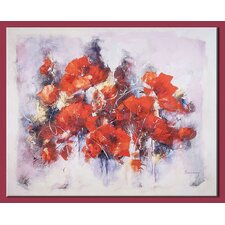 Poppies Original Painting on Canvas