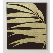 <strong>Graham & Brown</strong> Gold Palm Fabric Wall Art