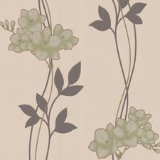 <strong>Graham & Brown</strong> Serenity Serene Floral Botanical Wallpaper