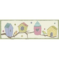 <strong>Graham & Brown</strong> Bird Houses Magnetic Canvas