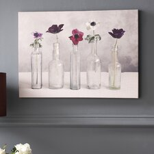 Floral Row Canvas
