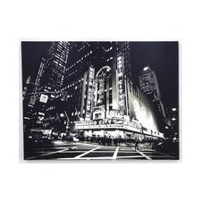 <strong>Graham & Brown</strong> Metallic City Lights Canvas