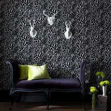 Fabulous Easy Tiger Motif Wallpaper