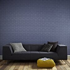 Odyssey Lucid Geometric Stripes Wallpaper