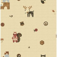 <strong>Graham & Brown</strong> Forager Woodland Critters Wallpaper