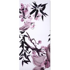 Kyoto Cherry Blossom 3 Piece Painting Print on Canvas Set