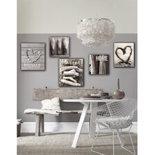 Home Sweet Home Graphic Art on Canvas (Set of 5)