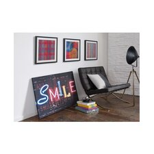 Smile Graphic Art on Canvas