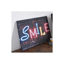 Smile Canvas Wall Art