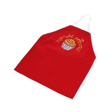Cupcake Princess Apron in Red