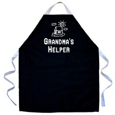 <strong>Attitude Aprons by L.A. Imprints</strong> Grandma's Helper Apron in Black